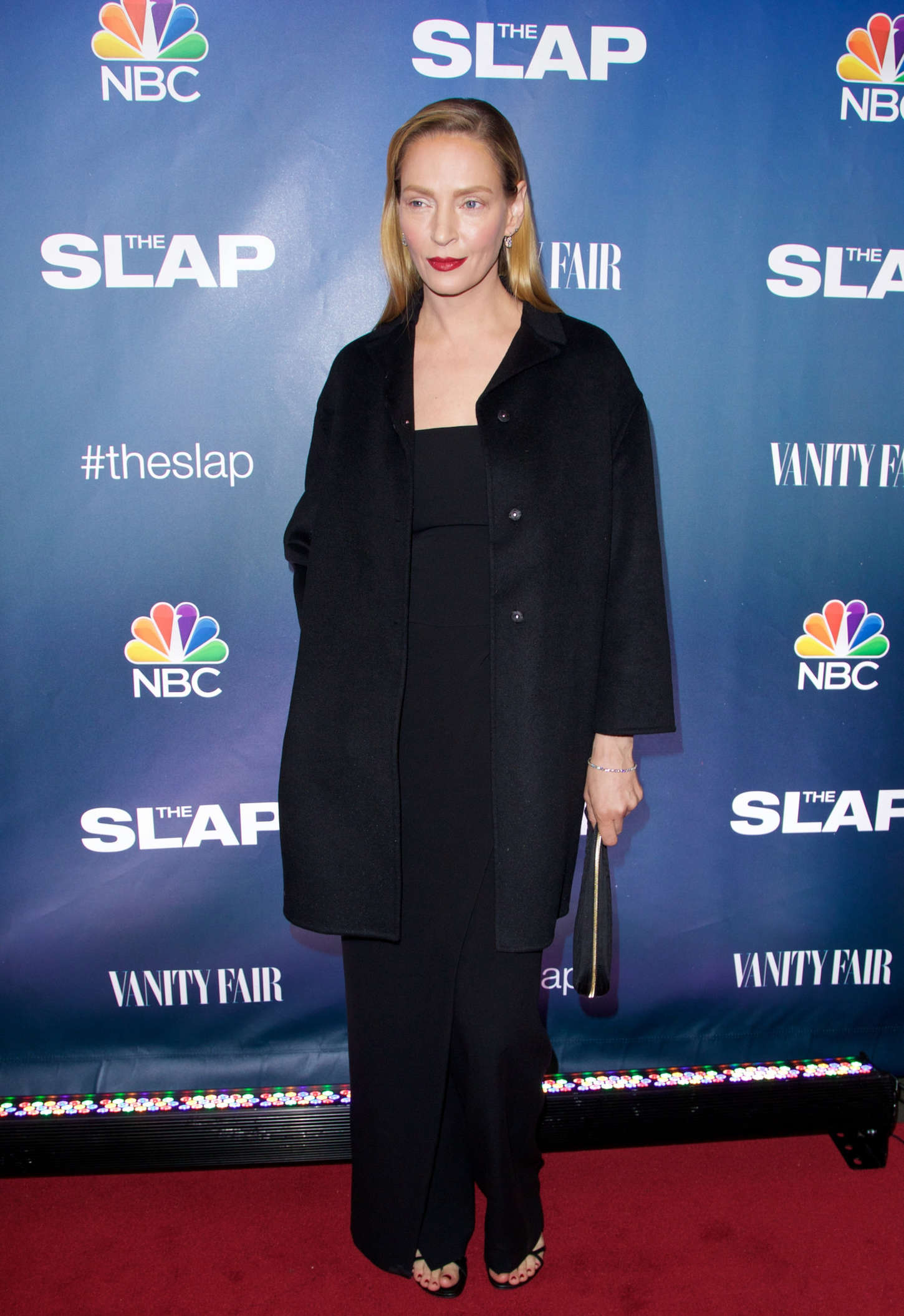 "Uma Thurman - ""The Slap"" Premiere in New York"