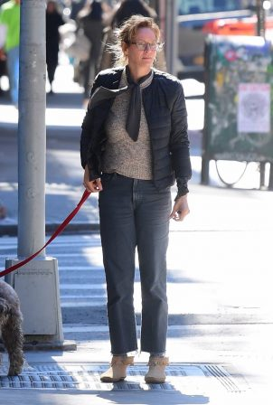 Uma Thurman - Was seen on the street of New York