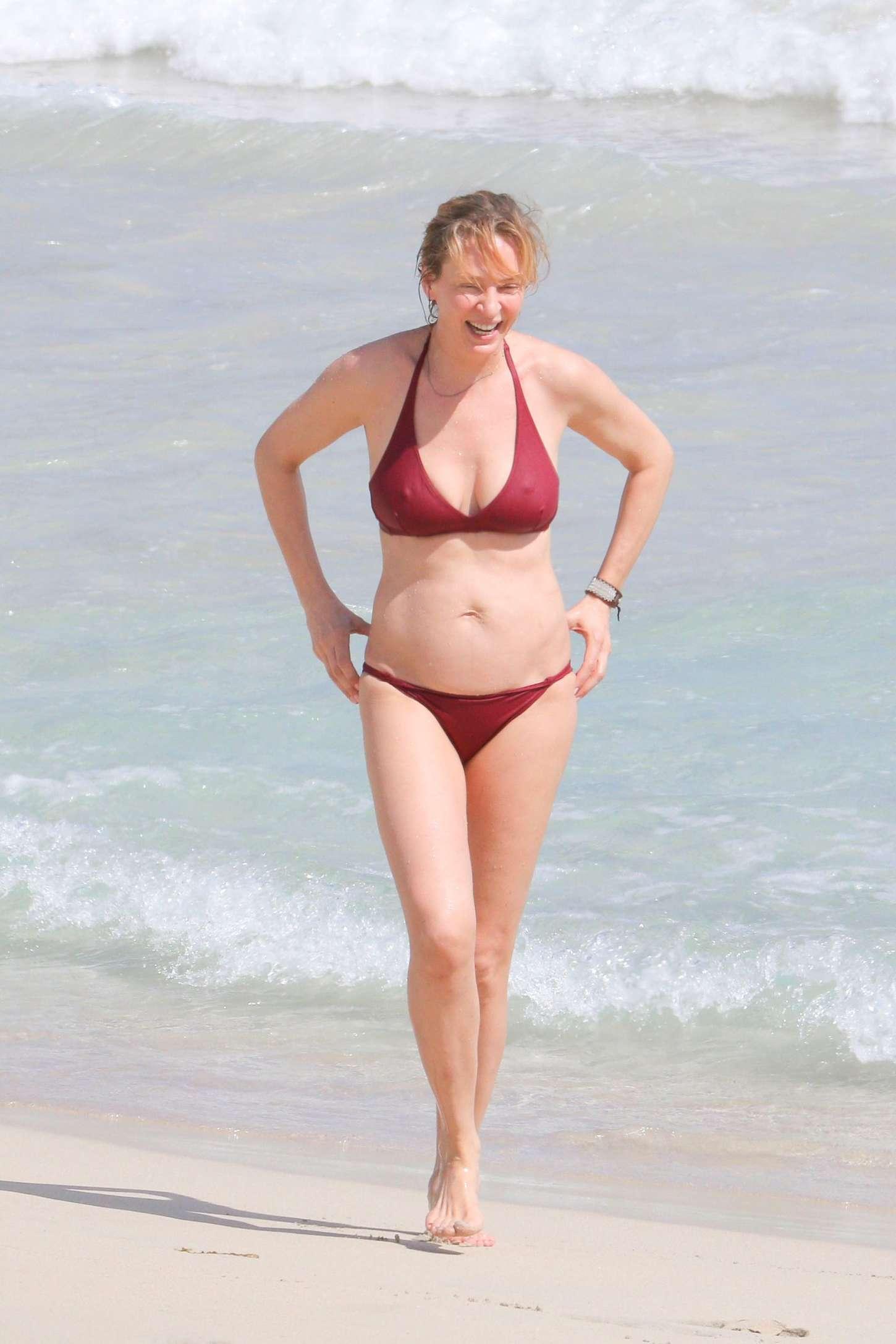 Uma Thurman Bikini 3