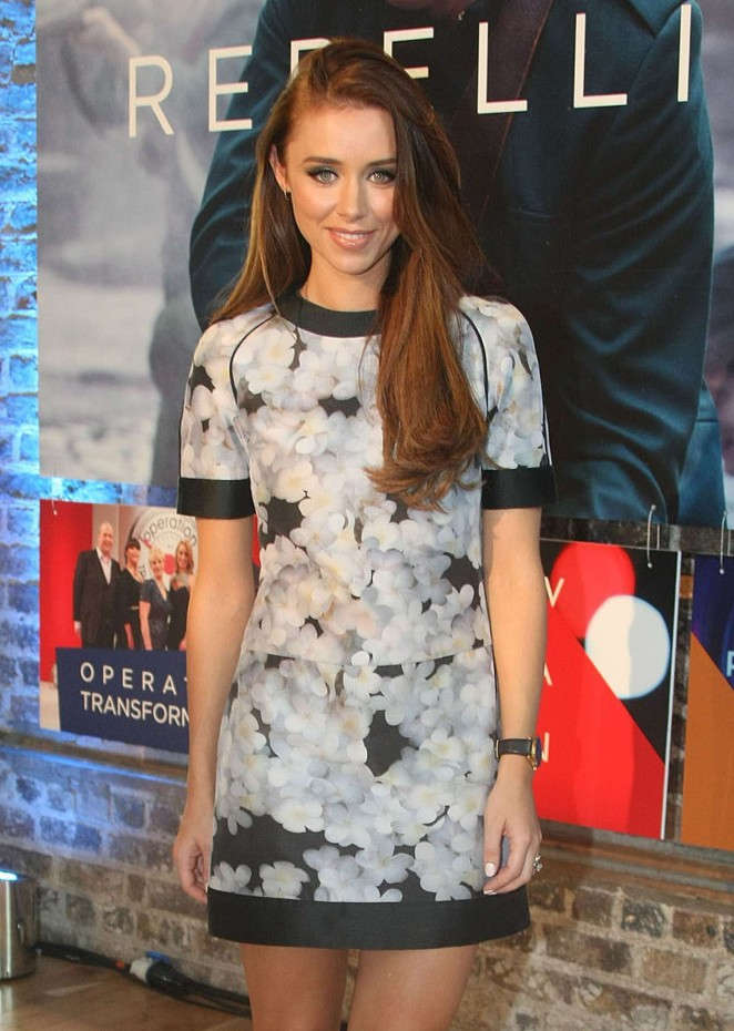 Una Foden - RTE TV Launch in Dublin