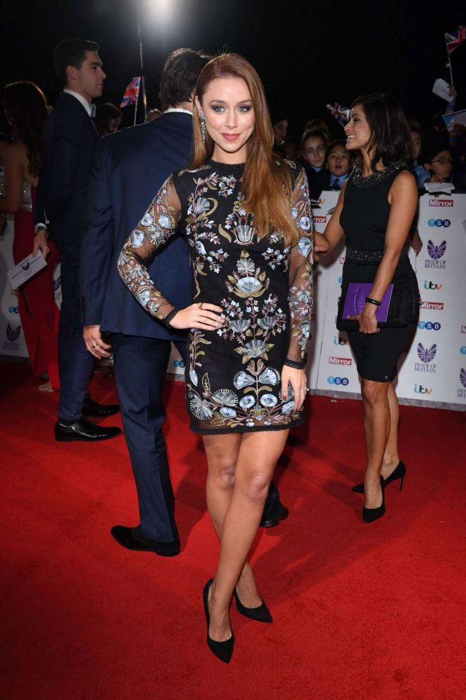 Una Healy - 2016  Pride of Britain Awards in London