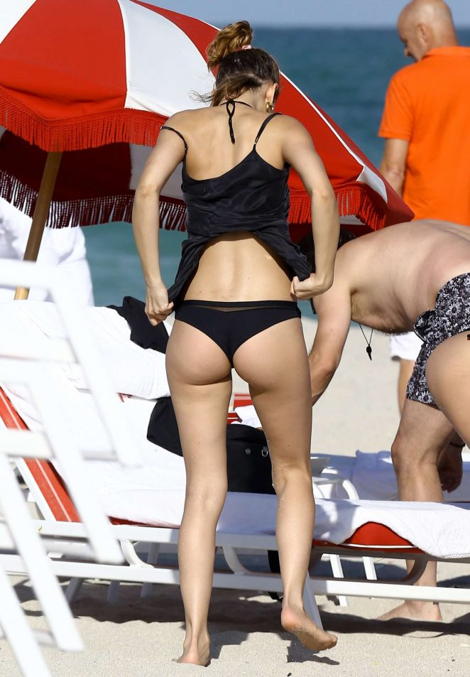 Ursula Corbero in Black Bikini 2016 -15 - GotCeleb