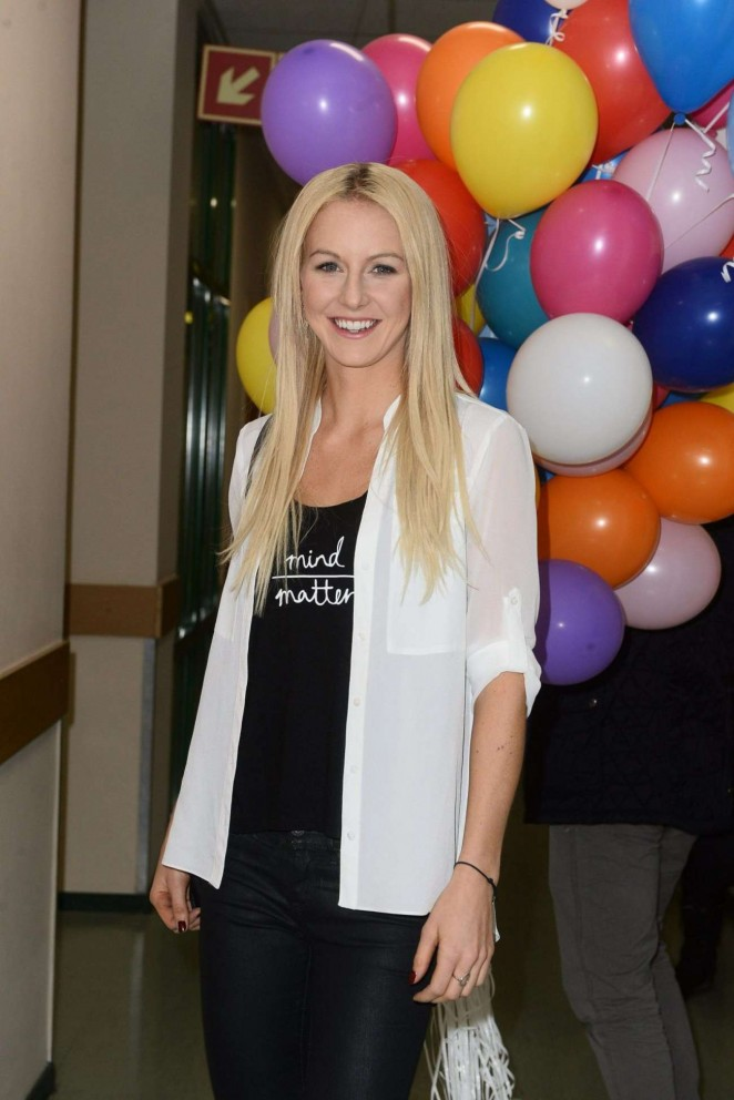 Urszula Radwanska - Noble Package Charity Campaign Promotion in Warsaw