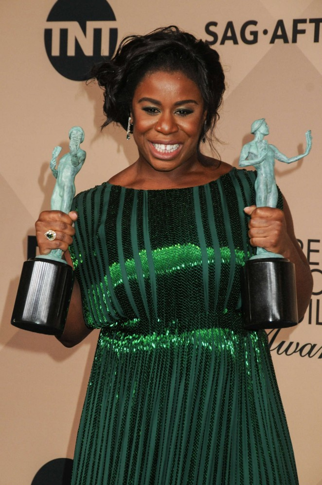 Uzo Aduba - 2016 SAG Awards in Los Angeles