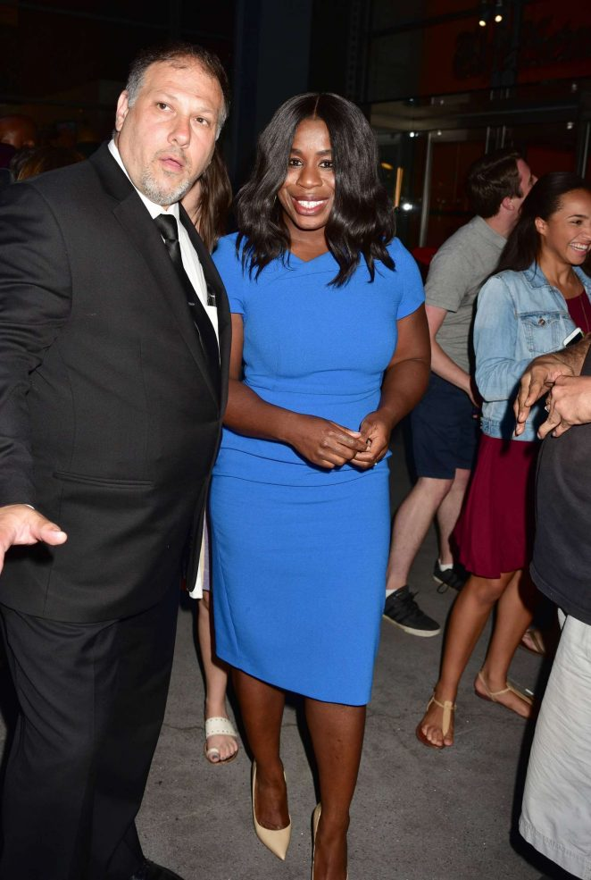 Uzo Aduba - 'TimesTalks - Orange Is The New Black' in NYC
