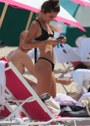 Vale Genta Bikini Photoshoot on the beach in Miami