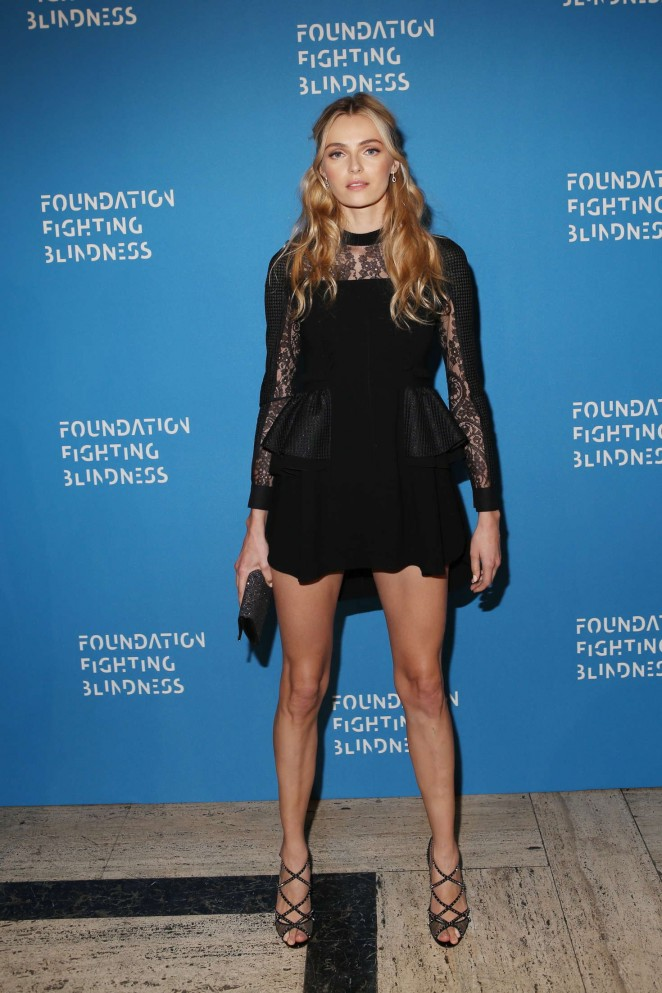 Valentina Zeliaeva - Foundation Fighting Blindness World Gala 2016 in New York