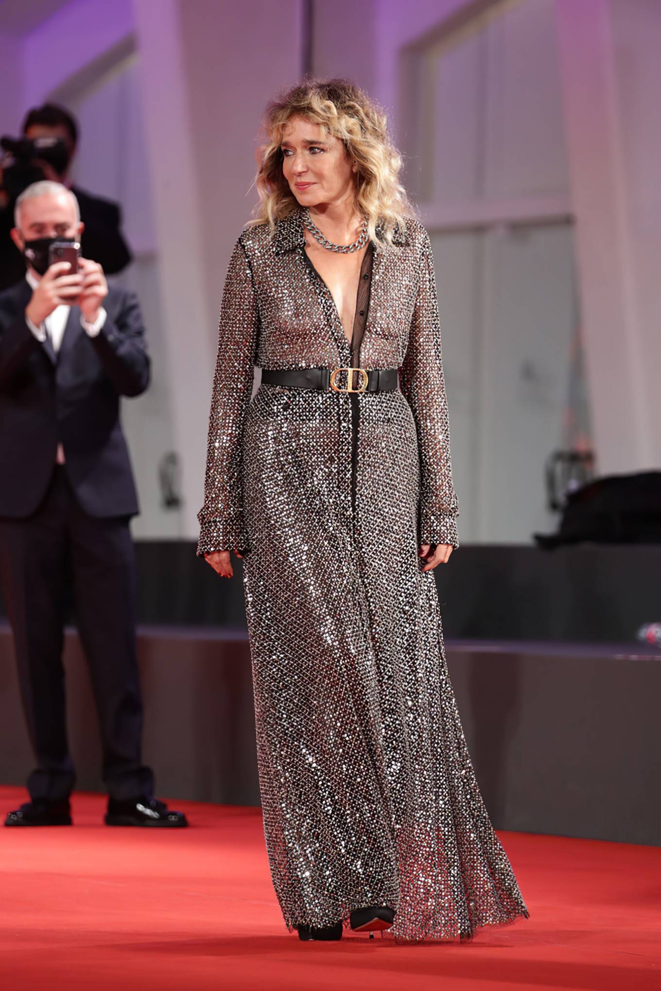 Valeria Golino 2020 : Valeria Golino – Closing Ceremony 2020 Venice Film Festival-10