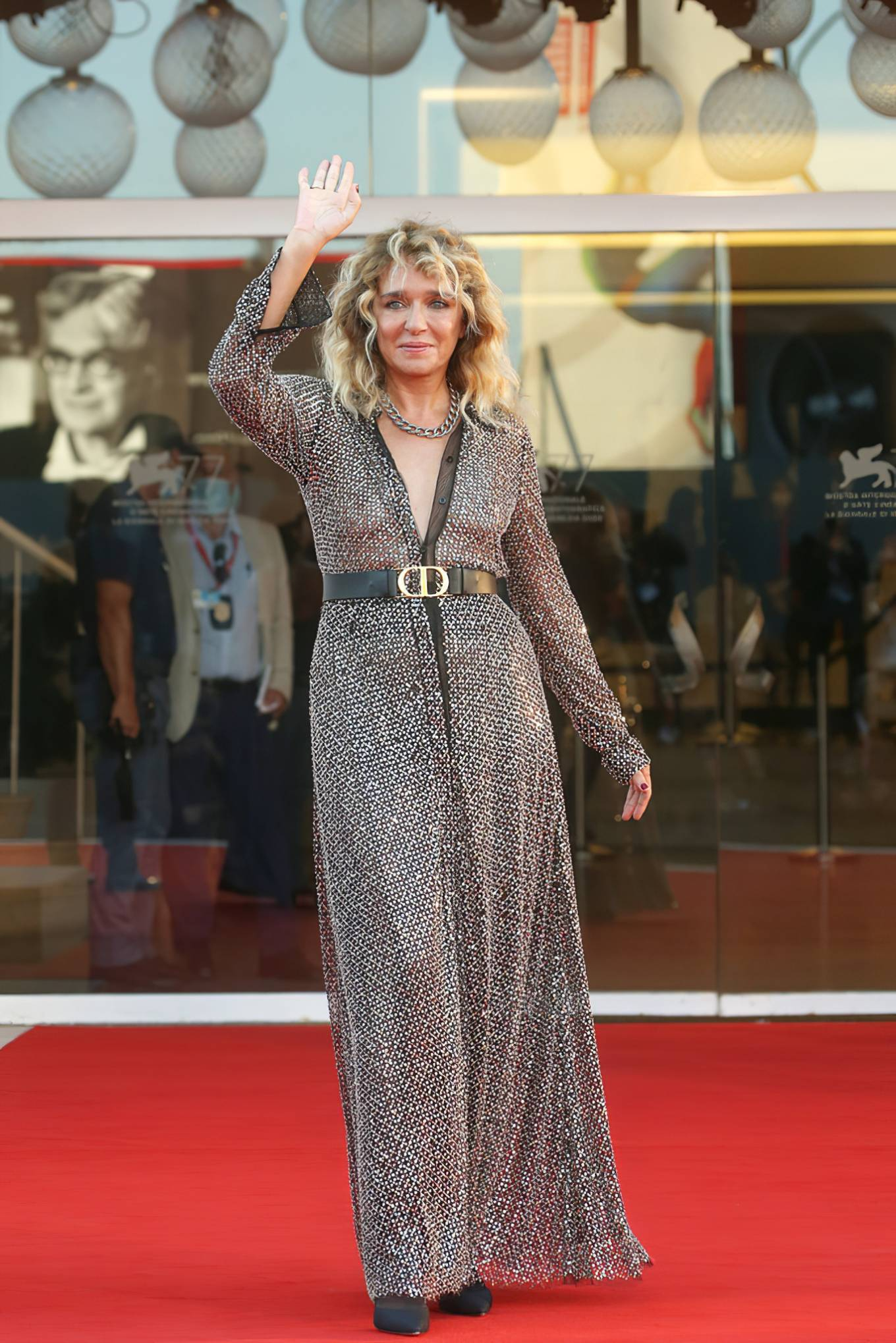 Valeria Golino 2020 : Valeria Golino – Closing Ceremony 2020 Venice Film Festival-13