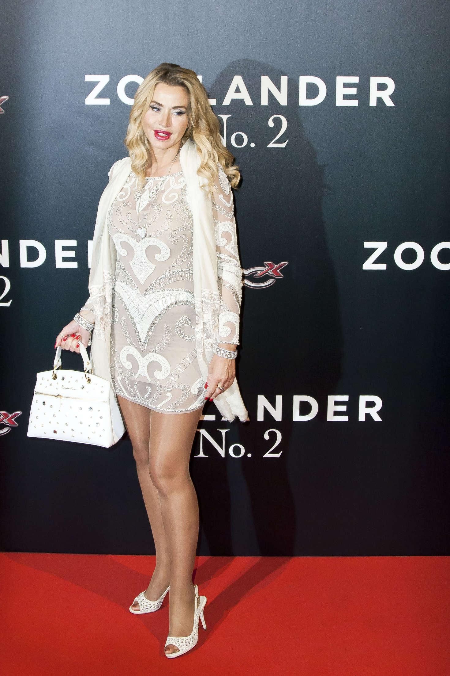 Valeria Marini - 'Zoolander 2' Premiere in Rome