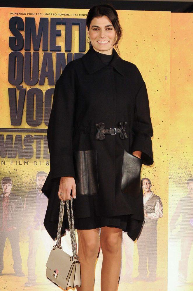 Valeria Solarino - 'Smetto Quando Voglio: Masterclass' Photocall in Rome