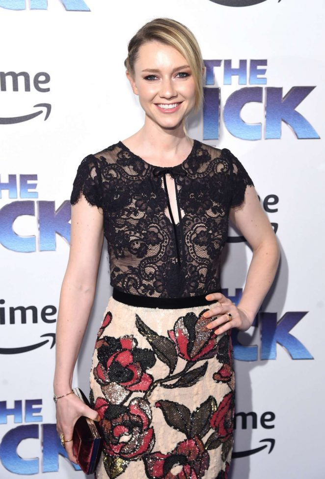 Valorie Curry - 'The Tick' Premiere in NYC