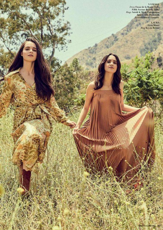 Vanessa and Laura Marano - Grumpy Magazine (July 2019)