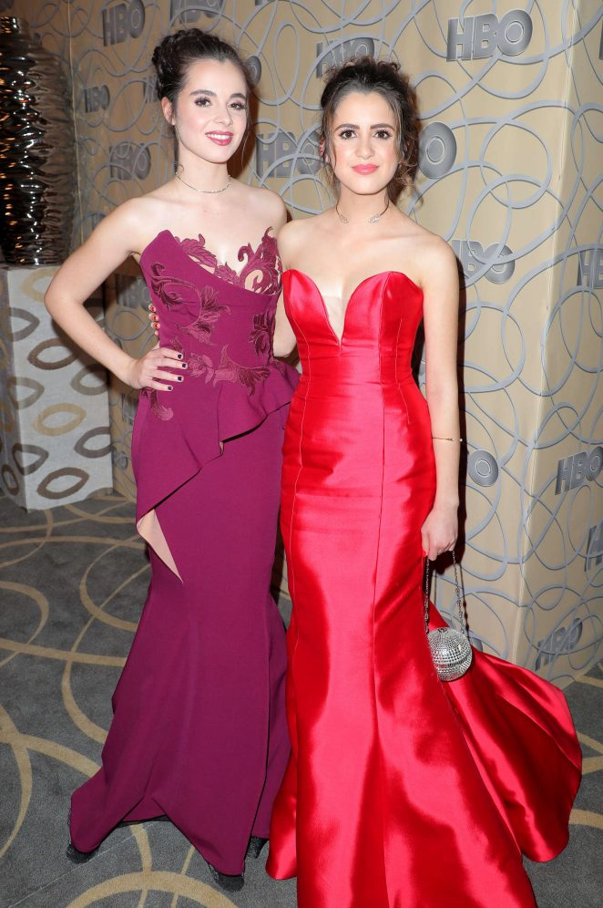 Vanessa and Laura Marano – HBO Golden Globes Party 2017 in Beverly Hills