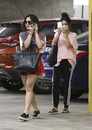 Vanessa and Stella Hudgens out in LA