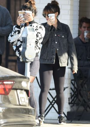Vanessa and Stella Hudgens - Out in Los Angeles