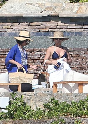Vanessa and Stella Hudgens - Sunbathing on vacation in Mexico