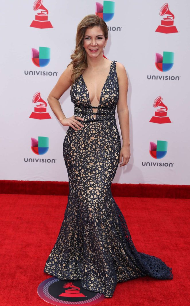 Vanessa Anez - 2017 Latin Grammy Awards in Las Vegas