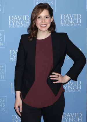 Vanessa Bayer - David Lynch Foundation Benefit for Veterans with PTSD in New York
