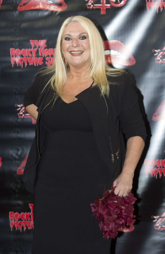 Vanessa Feltz - The Rocky Horror Picture Show: 40th Anniversary Screening in London