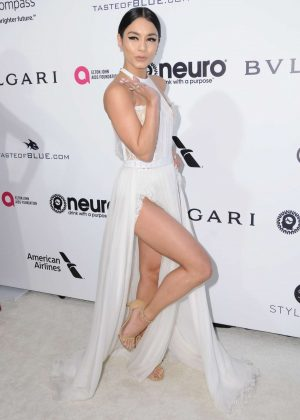 Vanessa Hudgens - 2017 Elton John AIDS Foundation's Oscar Viewing Party in West Hollywood