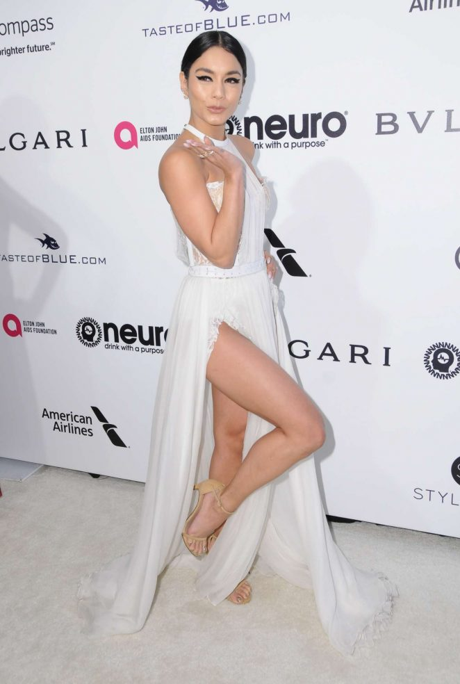 Vanessa Hudgens – 2017 Elton John AIDS Foundation's Oscar Viewing Party in West Hollywood