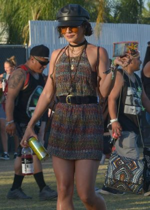 Vanessa Hudgens - 2018 Coachella Weekend 2 in Indio