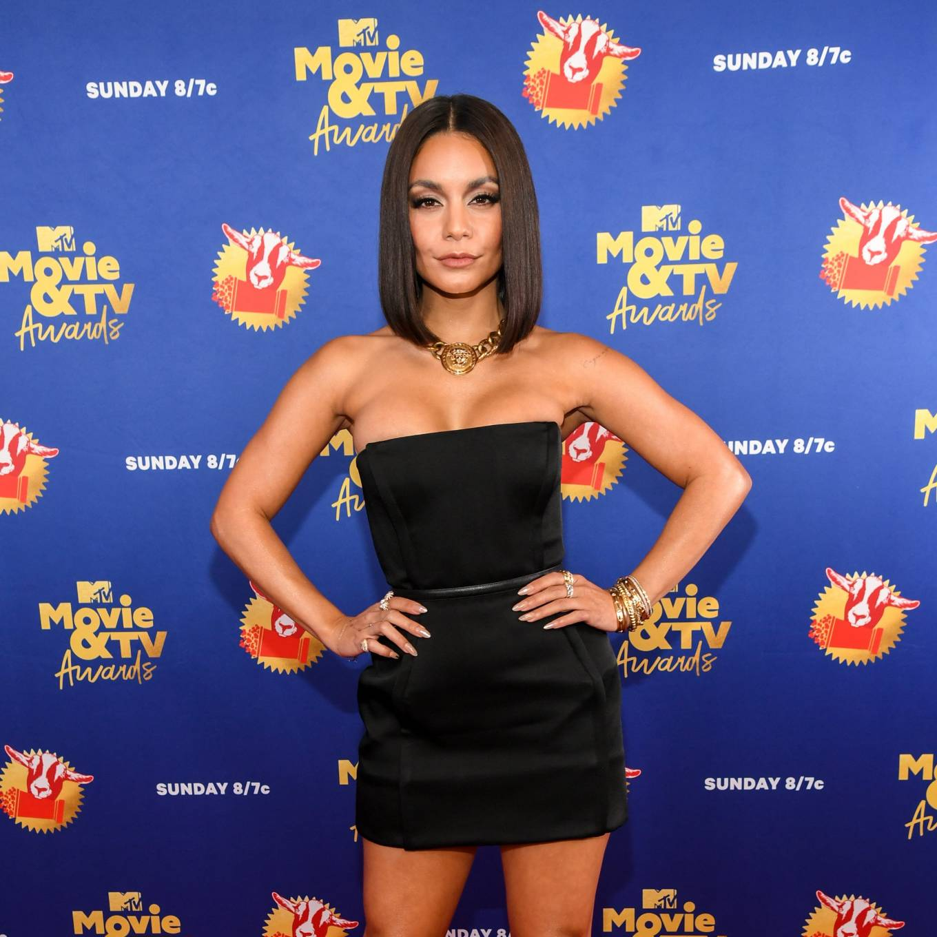 Vanessa Hudgens 2020 : Vanessa Hudgens – 2020 MTV Movie and TV Awards: GOAT in LA-02