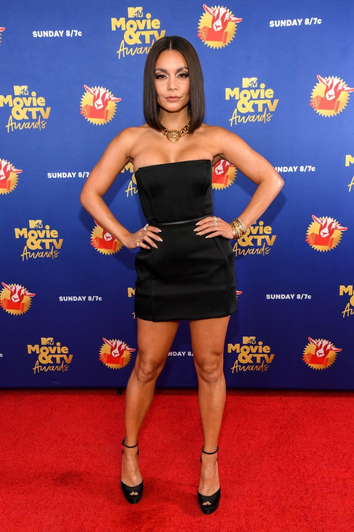 Vanessa Hudgens 2020 : Vanessa Hudgens – 2020 MTV Movie and TV Awards: GOAT in LA-04