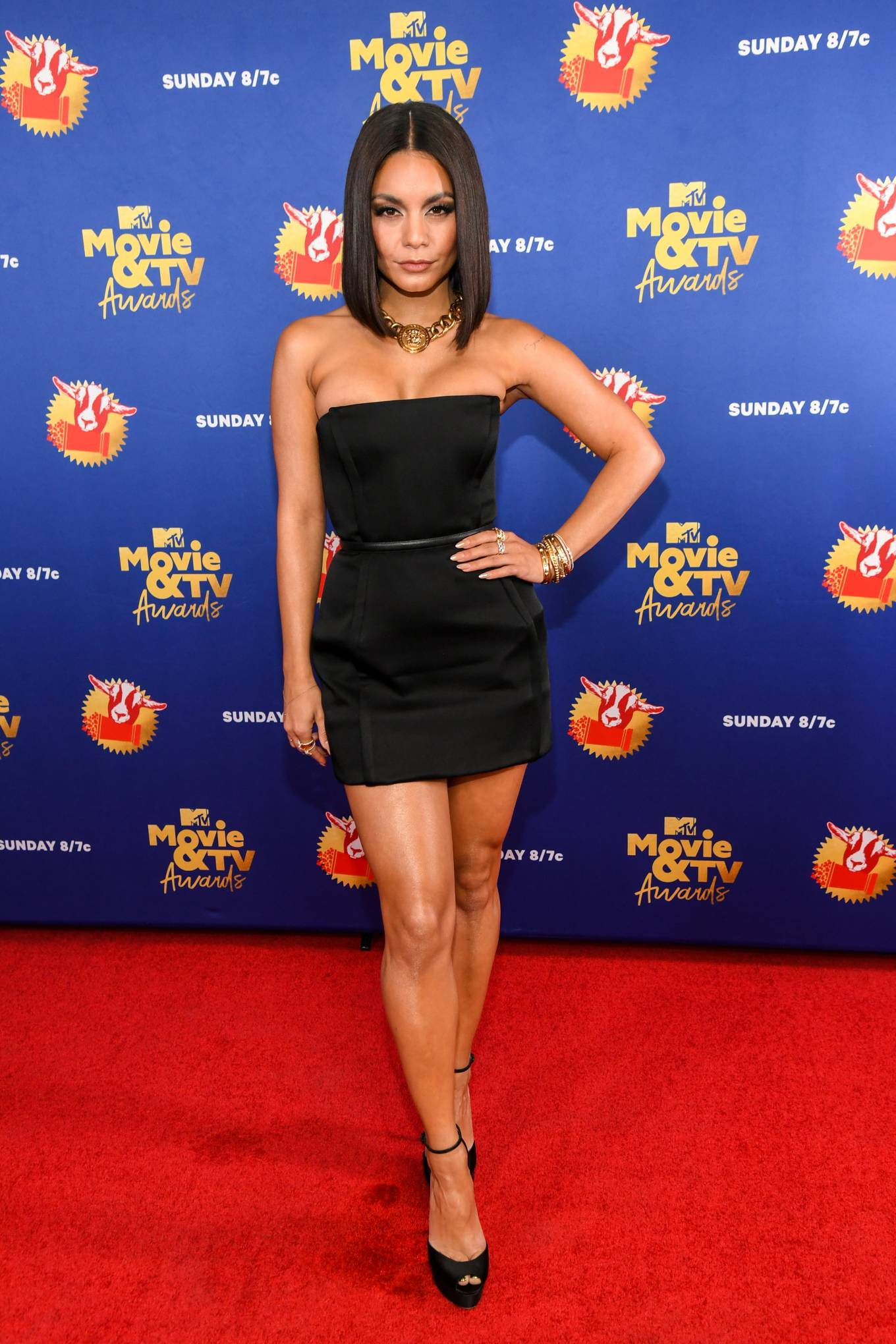 Vanessa Hudgens 2020 : Vanessa Hudgens – 2020 MTV Movie and TV Awards: GOAT in LA-17