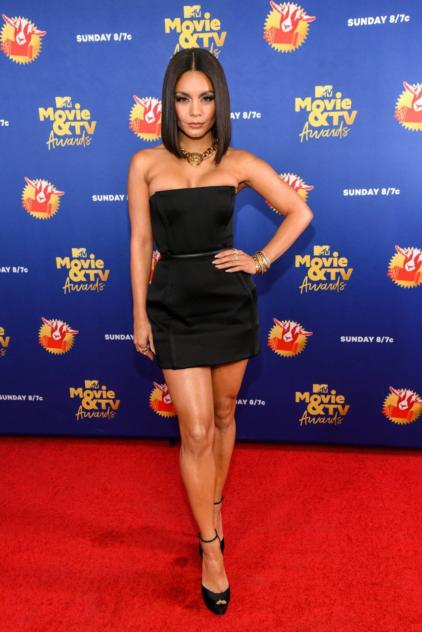 Vanessa Hudgens 2020 : Vanessa Hudgens – 2020 MTV Movie and TV Awards: GOAT in LA-20