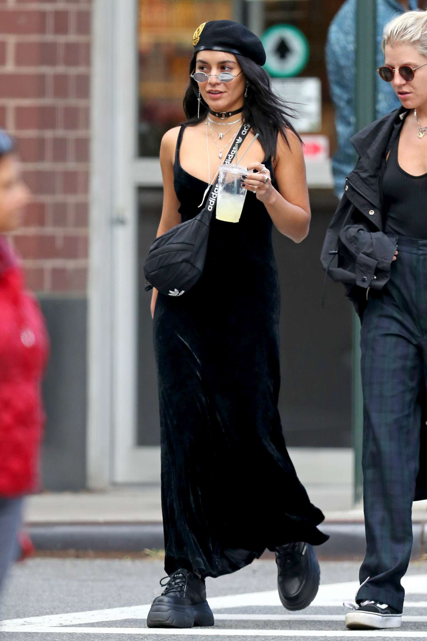 Vanessa Hudgens 2019 : Vanessa Hudgens – All in black out and about in New York City-08