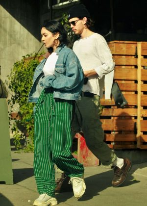 Vanessa Hudgens and Austin Butler - Out for Lunch in LA