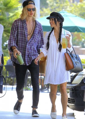 Vanessa Hudgens and Austin Butler out in Beverly Hills