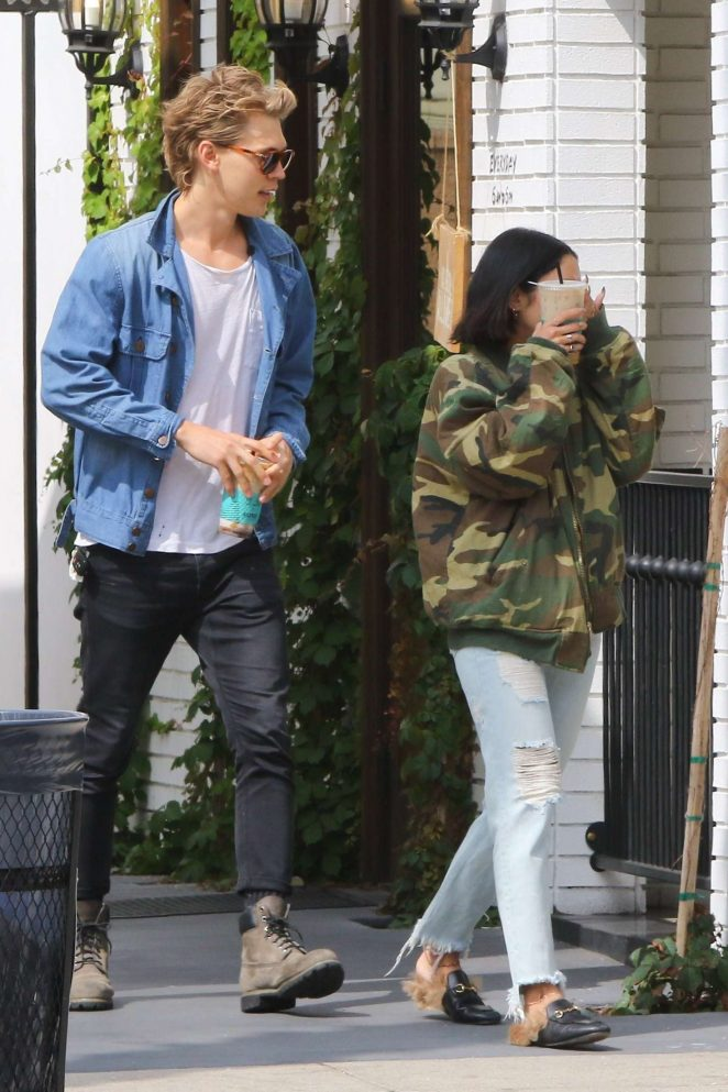 Vanessa Hudgens and Austin Butler out in Los Angeles -07