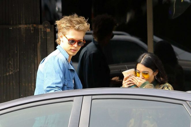 Vanessa Hudgens and Austin Butler out in Los Angeles -17
