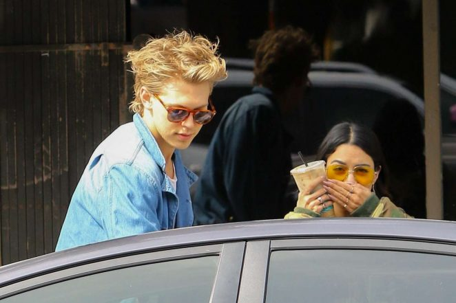 Vanessa Hudgens and Austin Butler out in Los Angeles -18