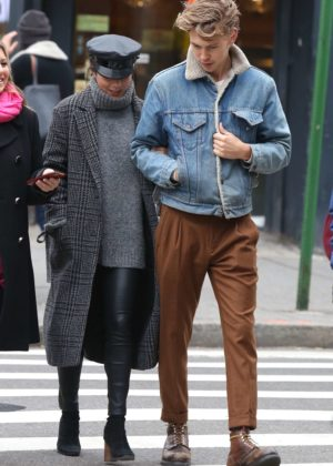 Vanessa Hudgens and Austin Butler Out in Manhattan