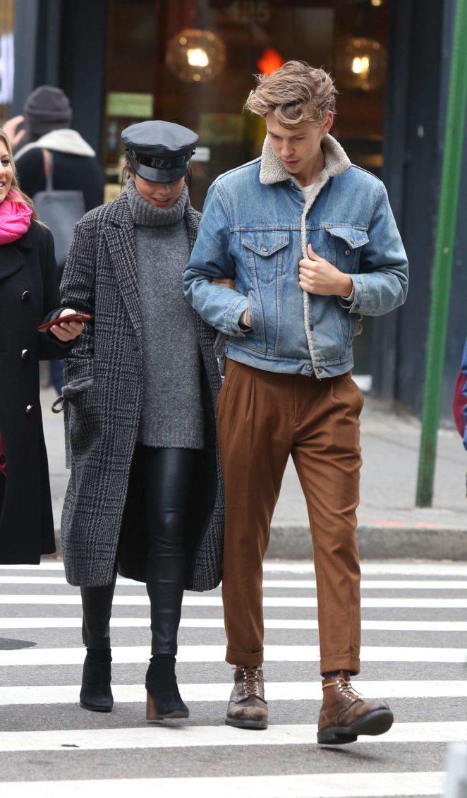 Vanessa Hudgens and Austin Butler Out in Manhattan