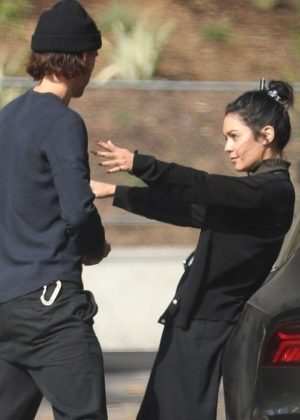 Vanessa Hudgens and Austin Butler - Out in West Hollywood