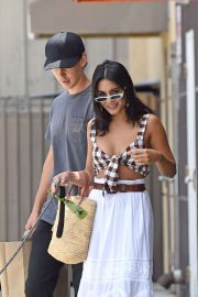 Vanessa Hudgens and Austin Butler - Out with dog in Los Angeles