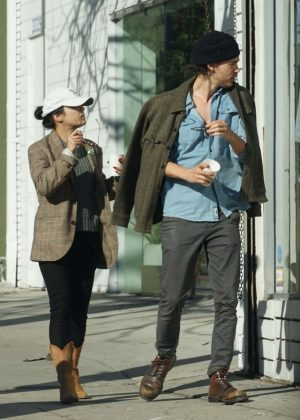 Vanessa Hudgens and Austin Butler - Shopping in Los Feliz