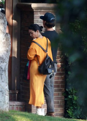 Vanessa Hudgens and Austin butler - Visiting a friend in Los Angeles