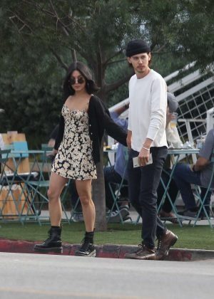Vanessa Hudgens and Boyfriend Austin Butler - Out in Los Angeles