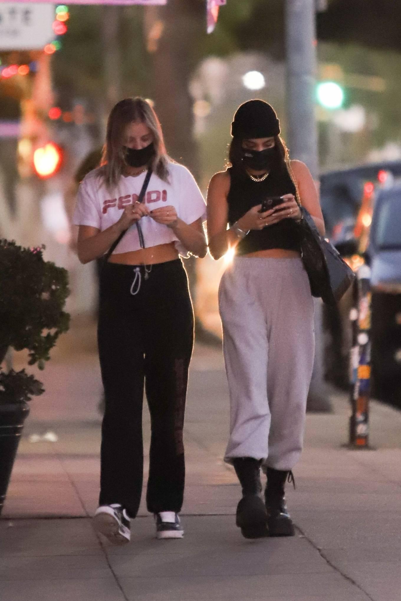 Vanessa Hudgens and GG Magree - Seen out in Los Feliz