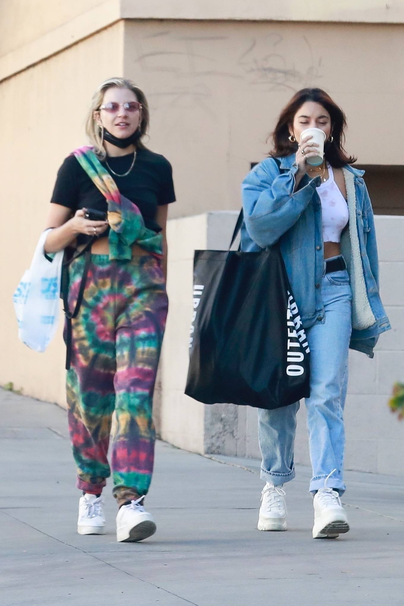 Vanessa Hudgens and GG Magree - Shopping candids in Burbank