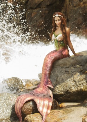 Vanessa Hudgens - Angelina Venturella for Project Mermaids 2015
