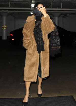Vanessa Hudgens - Arrived at Katana in West Hollywood