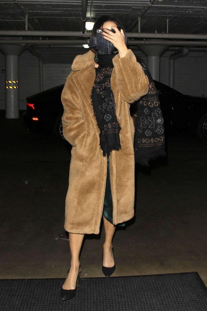 Vanessa Hudgens - Arrived at Katana in West Hollywood