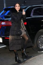 Vanessa Hudgens - Arrives at Good Morning America in New York